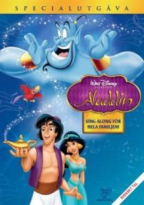 Bild på Aladdin-filmens omslag