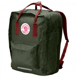 kanken-laptop-forest-green-ox-red